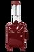 Lipault Plume Vinyle Nelipyöräinen laukku 55cm Ruby