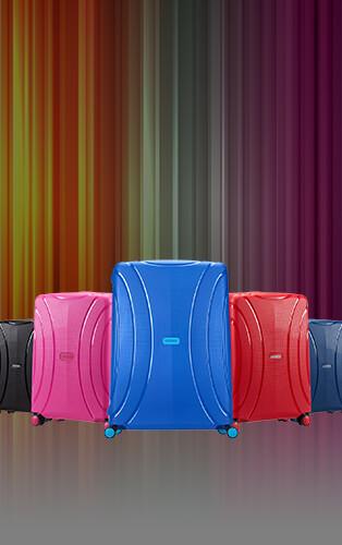 Värikkäät lentolaukut Jopa -40%