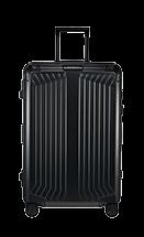Samsonite Lite-Box Alu Nelipyöräinen laukku Black